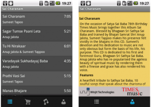 Best android app for spirituality - satya sai-screen