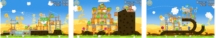 angry birds seasons summer pignic- best android apps