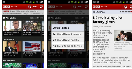 best android apps - BBC News Android app