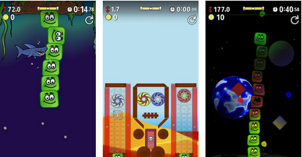 best android apps - shaky towers - android games