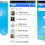 skype with video - best android application