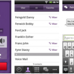 viber android app - free SMS and calls