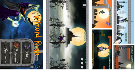 wizard rush 1- best android apps