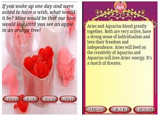 best android apps for love quotes