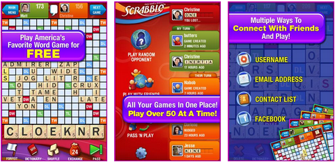 scrabble android app for free