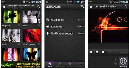 zedge best android app free wallpaper and ringtone