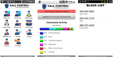 best android app call manager SMS blocker
