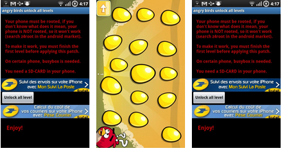 best android app - unlock angry bird levels