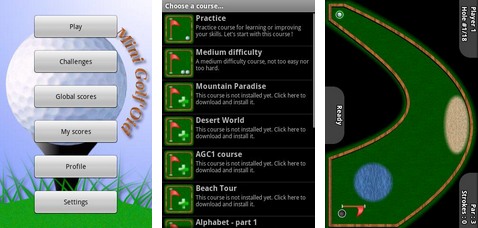 best android apps mini golf