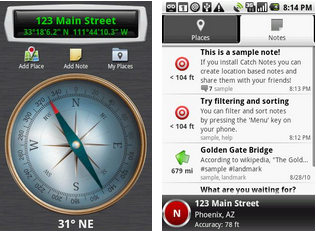 compass android application