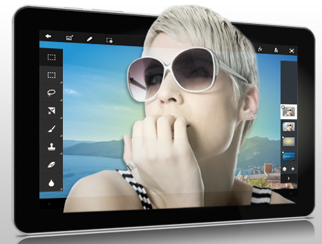 Adobe photoshop tablet app