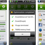 Android mobile optimizer app