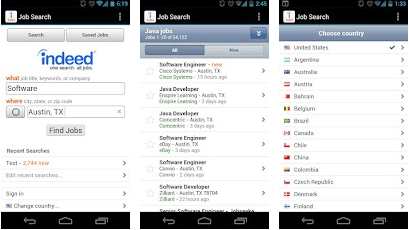 Job search best android application
