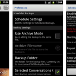 SMS backup restore android app