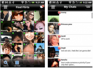 Skout Android Application for flirting
