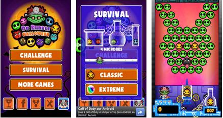 bubble blast halloween android app