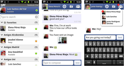facebook chat android app