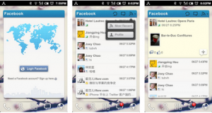 facebook widget for android