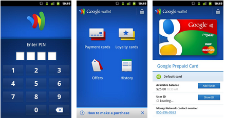 google wallet android app