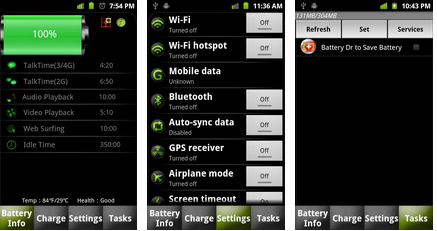 battery save task manger android app
