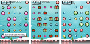 bubble blast christmas android apps