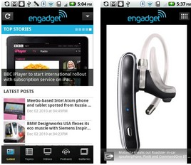 engadget android app