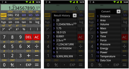 scientific calculator android application