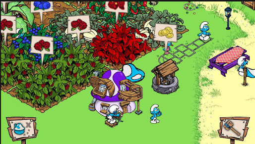 smurf village android app