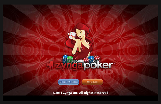 zynga android tablet app