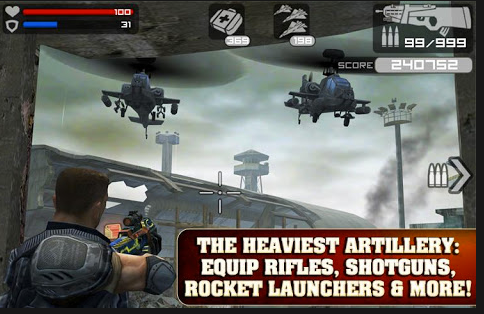 commando android application