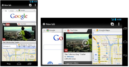 chrome for android 4.0 mobile