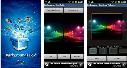 HD background best android apps