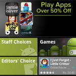 Google Play Android applications