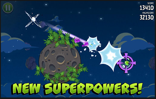 best android apps angry birds space