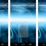 finger print lock android apps