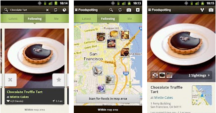 foodspotting best android apps