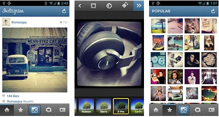 instagram android application