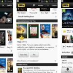 IMDB movie android app
