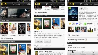 IMDB movie android app