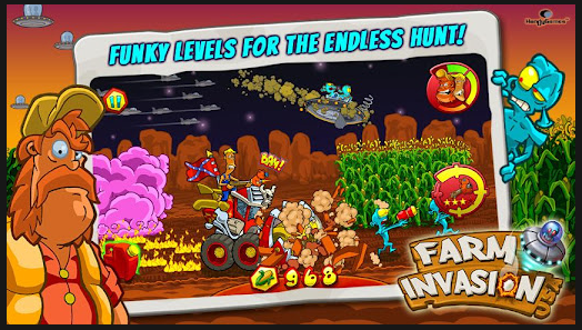farm invasion android application