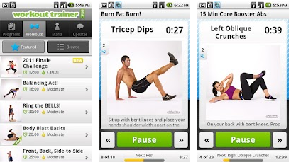 fitness wellness android apps