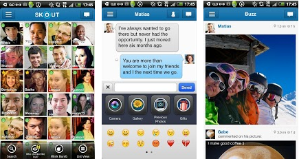 skout android application