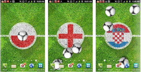 Euro football 2012 live android wallpaper