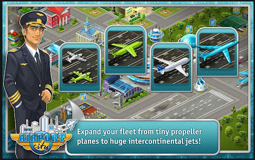 airport city android app