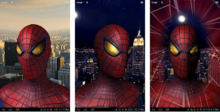 spiderman live wallpaper for free