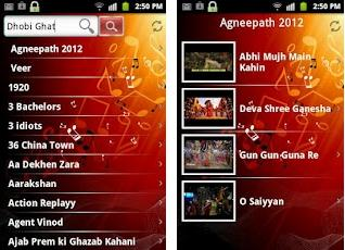 bollywood music free android app