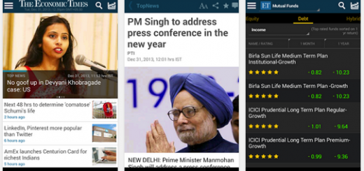 financial news economic times app