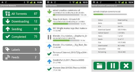 utorrent download remote app