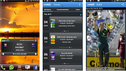cricbuzz cricket T 20 android app