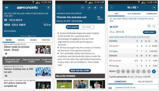 espn cricinfo cricket app
